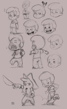 Bib0un - Character Design Page