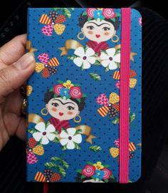 Caderneta tipo Moleskine Frida Kahlo ♥️ #cadernetaderecados #caderno #cadernobrochura #atibaia #fridakahlo #cadernoartesanal #feitoamao #Brasil #handmade #madewithlove #cuaderno #feitocomamor #cadernotipomoleskine #bookbinding #encuadernacion #estudioflordelotusencadernacao Handmade, Handmade Notebook, Decorated Notebooks, Made By Hands, Creativity, Frida Kahlo, Manualidades, Notebooks, Studio