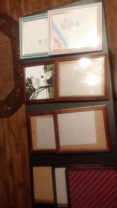 8X10 picture frames $2 each