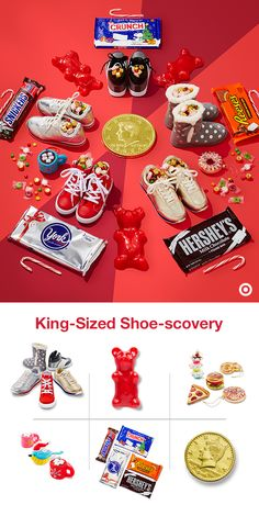 Three King's Day calls for king-sized rewards. Even though kids' shoes can be mini, it doesn't mean you can't pile them high with mega-sized treats like big candy bars, giant chocolate coins, toys and more. Big-time fun for a big-time celebration they're going to love.