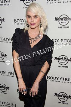 Taryn Manning hosts the night at Body English Nightclub inside Hard Rock Hotel and Casino on March 21, 2014 in Las Vegas, Nevada.