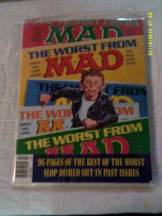The Worst from Mad Magazine 1985 USED