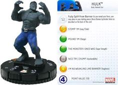 Hulk #102 Galactic Guardians Marvel Heroclix Single