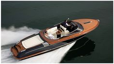 Riva does it right. Sickest Italian design. I would like one of these please.