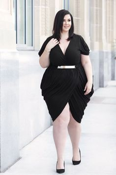 Plus Size Clothing for Women - On the Town Dress by Sabrina Servance (Sizes 14 - - Society+ - Society Plus - Buy Online Now! Curvy Women Fashion, Plus Size Fashion, Womens Fashion, Size 14 Dresses, Plus Size Outfits, Plus Zise, Tulip Dress, Looks Plus Size, Perfect Little Black Dress