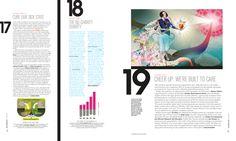 San Francisco Magazine Art Direction, and Design by Alejandro Chavetta, via Behance