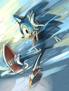 Sonic the hedgehog // free