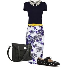 Sister missionary outfit, love the combo