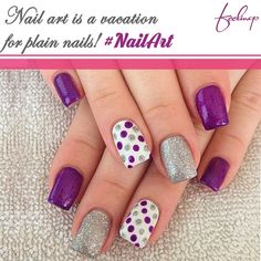 If life gives you nail polishes, make a nail art! #NailArtMagic #ColourForever.#PrettyNails #GirlyMe
