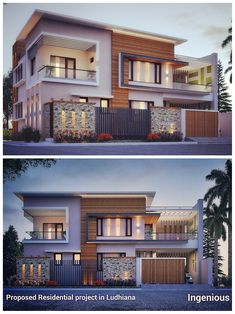 Houses by ingenious is part of House design - Here you will find photos of interior design ideas Get inspired! Modern Exterior House Designs, Best Modern House Design, Modern Villa Design, Latest House Designs, Dream House Exterior, Modern Architecture House, Modern Houses, Modern Contemporary House, Modern Bungalow Exterior