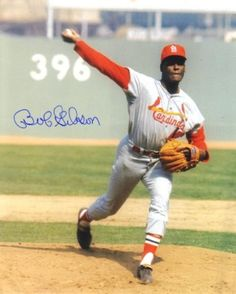 Bob Gibson - Was so good they literally changed the game of baseball because of him!