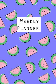 Watermelon FiloFax Dashboard Printable. Instant by DIYweddingbabe