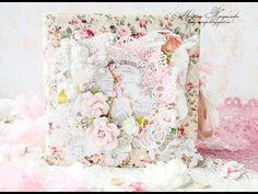 Альбом шебби шик для маленькой принцессы / Shabby Chic Album for the little princess - YouTube