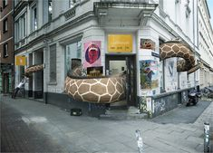 Page Online, Giraffe, Campaign, Advertising, Projects, First Aid, Pictures, Log Projects, Felt Giraffe