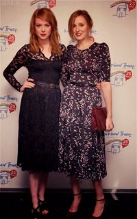 Laura-Carmichael in a lovely vintage style dress.