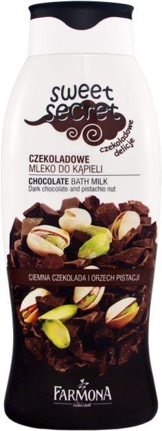 <3 czekoladowe mleko do kąpieli / chocolate bath milk - FARMONA. not tested on animals.