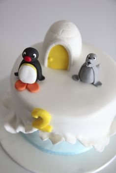 pingu cake by Lume Brando, via Flickr