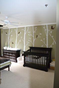 Munchkin's Serene Forest - Project Nursery