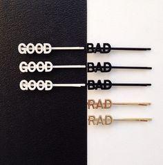 GOOD . BAD . RAD bobbi pin set