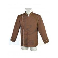 Bluza kucharska limitowana Motorcycle Jacket, Chef Jackets, Leather Jacket, Kitchen, Fashion, Studded Leather Jacket, Moda, Leather Jackets, Cooking