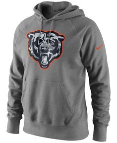 Nike Men's Chicago Bears Fly Over Pack Hoodie