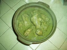 Jocón or pollo en jocón is a dish popular with the Mayan population of Guatemala. Chicken is simmered in a tasty sauce tinted a beautiful green by tomatillos and cilantro.