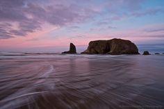 Patricia Davidson - Google+ - Shades of pink during a sunrise in Bandon, Oregon Bandon Oregon, Oregon Coast, Patricia Davidson, North Bend, Imvu, Sunrise, Shades, Water, Google