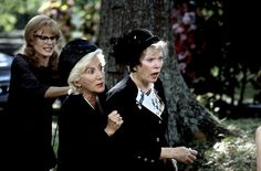 """""""Hit this! Go ahead M'Lynn, slap her!"""" """"Are you crazy?"""" """"Hit her!"""" """"Are you high, Clairee?"""" """"We'll sell t-shirts saying I SLAPPED OUISER BOUDREAUX!"""" From Steel Magnolias Sad Movies, Great Movies, Movie Tv, Movies Showing, Movies And Tv Shows, Steel Magnolias 1989, Magnolia Movie, Olympia Dukakis, Shirley Maclaine"""