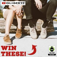 Want to take a walk in some NEW @oliberte shoes? Enter the #giveaway here: http://fairtrd.us/1P3ESlV #win #footwear #shoes #FairTrade #fashion #ecofashion