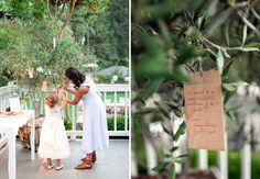 blessing tree = this one uses an olive tree and wood laminate blessing cards