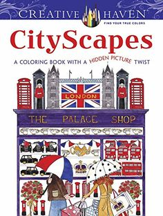 Creative Haven CityScapes: A Coloring Book with a Hidden Picture Twist (Creative Haven Coloring Books) by Alexandra Cowell http://www.amazon.com/dp/0486800776/ref=cm_sw_r_pi_dp_a8gCvb00A1C1S
