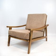 Leather Occasional Chair (Natural)