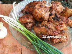 Рецепт очень вкусного куриного шашлыка в кефирно-луковом маринаде