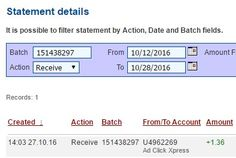 AdClickXpress is the top choice for passive income seekers. Making my daily earnings is fun, and makes it a very profitable! I am getting paid daily at ACX and here is proof of my latest withdrawal. This is not a scam and I love making money online with Ad Click Xpress.