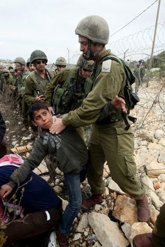 More children in conflict. Palestinian kids get special treatement from the most moral army in the world