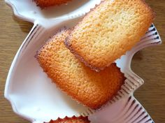 Financiers au citron : la recette facile