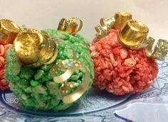 Rice Krispy Treats Ornaments