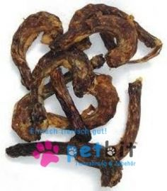 Getrockneter Hünchenhals - Hünchenhals Der leckere Hunde-Snack aus Huhn für zwischen durch. Leicht bekömmlich und sehr beliebt bei allen Hunden. Auch die kleinen Hunderassen kommen gut zurecht mit die