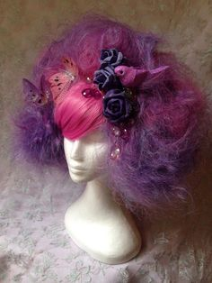 Fairy Princess Two Tone Wig With Matching Accessories