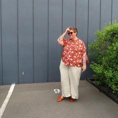 Jess, Broad In The Seams (@fat.bobbin.girl) • Instagram photos and videos Bermuda Shorts, Capri Pants, Photo And Video, Instagram, Fat, Shirts, Dresses, Videos, Women