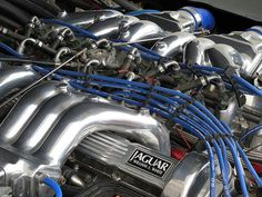 Beautiful Jaguar V-12 V12 Engine, Jaguar Cars, Electric Motor, Engineering, Vehicles, Amazing, Beautiful, Art, Art Background