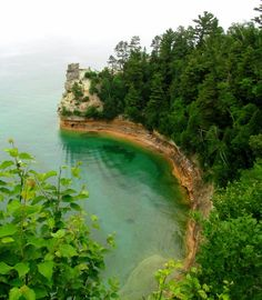 Miners Castle in Pictured Rocks National Lakeshore, Michigan (Lake Superior) by Adventures of Kirby and Sarah, via Flickr