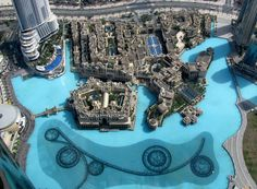 view from the top of the Burj Khalifa, Dubai photographed by my friend, Holly Warah ... can't believe we lived in this crazy city from 2008-2010.