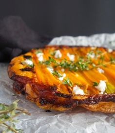 Tarte tatin with Carrots and Goat Cheese