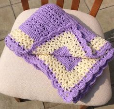 Ravelry: Adeline Baby Blanket by bright and scrappy