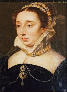 Diane de France, Duchesse d'Angouleme (1538 - 1619) the natural dau of Henry II, King of France, & his Piedmontese mistress Filippa Duci