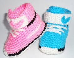 Zapatos de bebé zapatillas de bebé zapatos por BABYCROCHETfashion