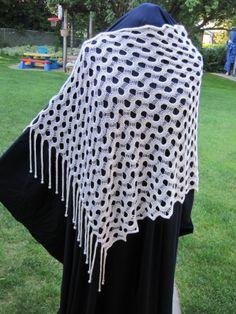Machine Knit Shawl