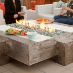 Perfect outdoor fireplace for those who love entertaining outside.