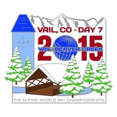 Men's Alpine Combined. 2015 Vail/Beaver Creek FIS Alpine World Ski Championships.